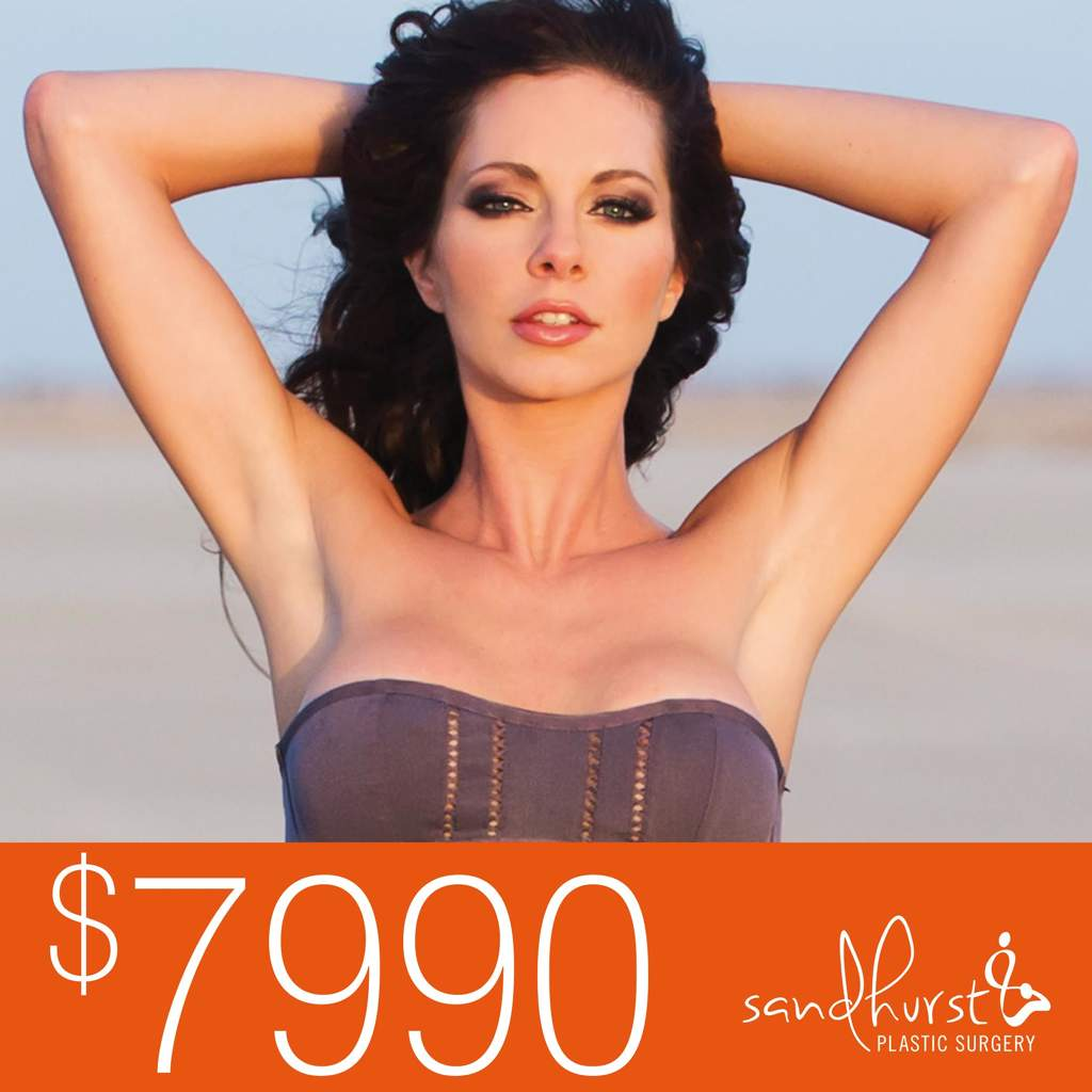 $7990 breast augmentation australia | boob job melbourne » sandhurst